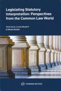Cover of Legislating Statutory Interpretation: Perspectives from the Common Law World