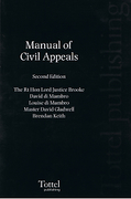 Cover of Manual of Civil Appeals