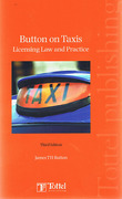 Cover of Button on Taxis: Licensing Law and Practice