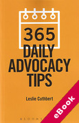 Cover of 365 Daily Advocacy Tips (eBook)