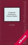 Cover of Corporate Insolvency: Pension Rights (eBook)