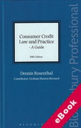 Cover of Consumer Credit Law and Practice: A Guide (eBook)