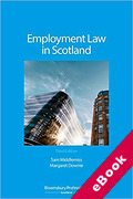 Cover of Employment Law in Scotland (eBook)
