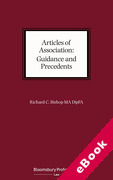 Cover of Articles of Association: Guidance and Precedents (eBook)