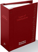 Cover of Law of Limitation Looseleaf