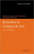 Cover of Remedies in Contract and Tort
