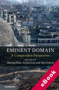 Cover of Eminent Domain: A Comparative Perspective (eBook)