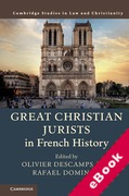 Cover of Great Christian Jurists in French History (eBook)