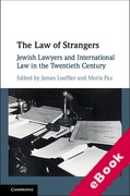 Cover of The Law of Strangers: Jewish Lawyers and International Law in the Twentieth Century (eBook)