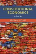 Cover of Constitutional Economics: A Primer