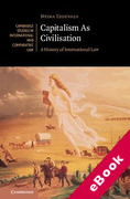 Cover of Capitalism As Civilisation: A History of International Law (eBook)