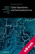 Cover of Cyber Operations and International Law (eBook)