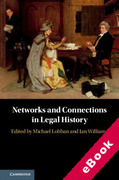 Cover of Networks and Connections in Legal History (eBook)