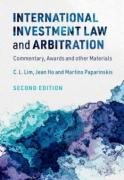 Cover of International Investment Law and Arbitration: Commentary, Awards and other Materials