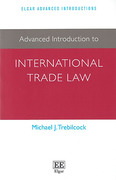 Cover of Advanced Introduction to International Trade Law