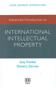 Cover of Advanced Introduction to International Intellectual Property