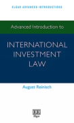 Cover of Advanced Introduction to International Investment Law