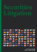 Cover of Getting the Deal Through: Securities Litigation 2018