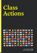 Cover of Getting the Deal Through: Class Actions 2019