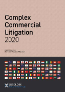 Cover of Getting the Deal Through: Complex Commercial Litigation 2020