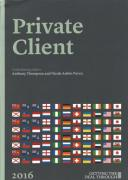 Cover of Getting the Deal Through: Private Client 2020