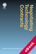 Cover of Negotiating Technology Contracts (eBook)