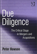 Cover of Due Diligence: The Critical Stage in Acquisitions and Mergers (eBook)