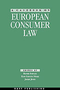 Cover of A Casebook on European Consumer Law