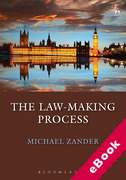Cover of Law in Context: The Law Making Process (eBook)