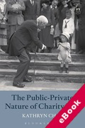 Cover of The Public-Private Nature of Charity Law (eBook)
