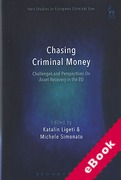 Cover of Chasing Criminal Money: Challenges and Perspectives on Asset Recovery in the EU (eBook)