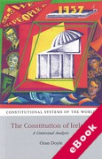 Cover of The Constitution of Ireland: A Contextual Analysis (eBook)