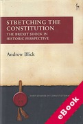 Cover of Stretching the Constitution: The Brexit Shock in Historic Perspective (eBook)