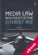 Cover of Media Law and Policy in the Internet Age (eBook)