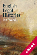 Cover of English Legal Histories (eBook)