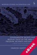 Cover of Fundamental Rights and Mutual Recognition in the Area of Freedom, Security and Justice: A Role for Proportionality? (eBook)