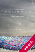 Cover of Re-Inventing Labour Law Enforcement: A Socio-Legal Analysis (eBook)