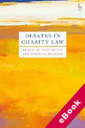 Cover of Debates in Charity Law (eBook)