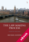 Cover of The Law-Making Process (eBook)