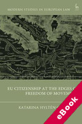 Cover of EU Citizenship at the Edges of Freedom of Movement (eBook)