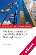 Cover of The Effectiveness of the Köbler Liability in National Courts (eBook)
