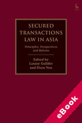 Cover of Secured Transactions Law in Asia: Principles, Perspectives and Reform (eBook)