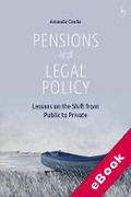Cover of Pensions and Legal Policy: Lessons on the Shift from Public to Private (eBook)
