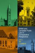 Cover of British and Canadian Public Law in Comparative Perspective