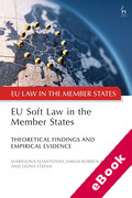 Cover of EU Soft Law in the Member States: Theoretical Findings and Empirical Evidence (eBook)