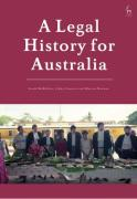 Cover of A Legal History for Australia
