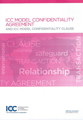 icc model confidentiality agreement pdf