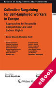 Cover of Collective Bargaining for Self-employed Workers in Europe (eBook)
