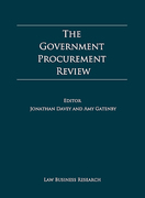 Cover of The Government Procurement Law Review