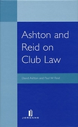 Cover of Ashton and Reid on Club Law